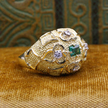 Emerald Dome Ring