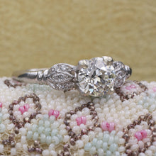 .92 Carat Old European Cut Diamond Ring c1910