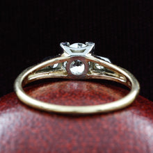 Old European Cut Two-tone GIA Certified Diamond Ring c1930