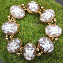 Three Graces Cameo Bracelet c1970