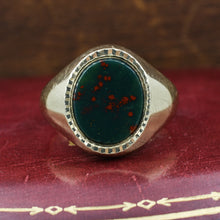 Bloodstone Signet Ring c1910