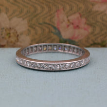 Platinum Diamond Eternity Band c1950