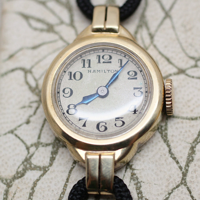 Circa 1930 14K Hamilton Ladies Watch