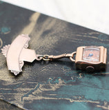 Circa 1930 Pendant Watch on Late Victorian Pin
