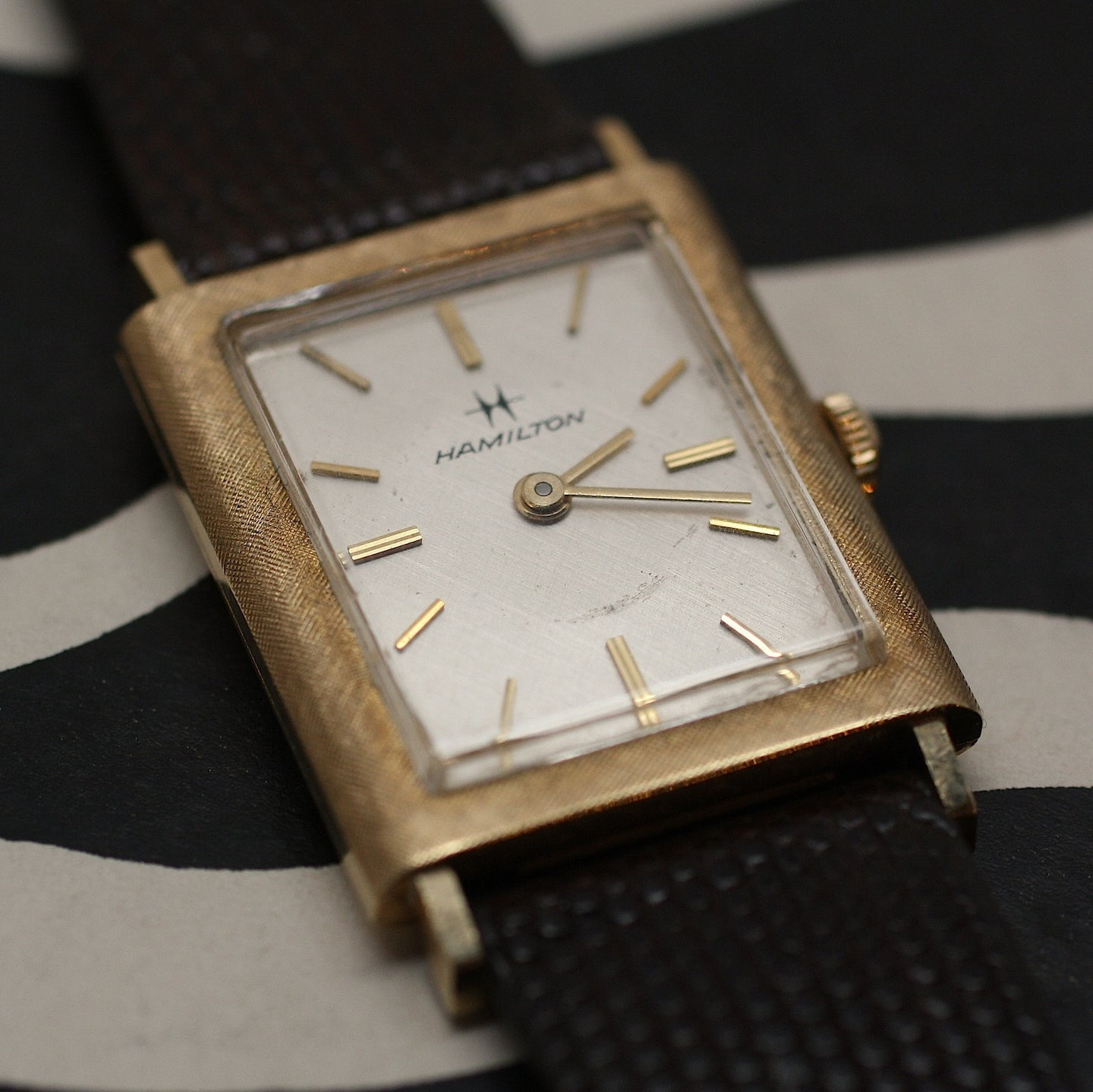 1960's 14K Hamilton Mens Watch