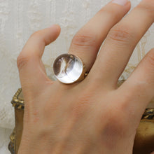 "18k ""Pool of Light"" Gucci-Link Ring"