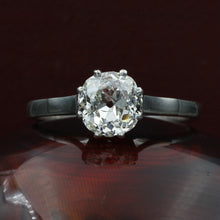 1.31 Carat Old Mine Diamond Solitaire c1890
