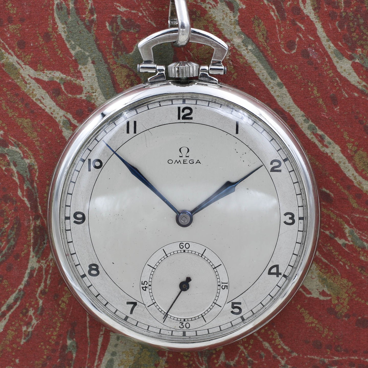 Omega Platinum Pocket Watch c1930