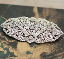 Circa 1900 Platinum & Diamond Brooch
