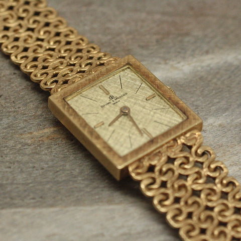 Circa 1960 Baume & Mercier 18K Watch