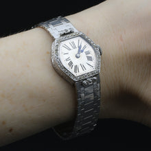 Concord Platinum and Diamond Lady's Watch c1920