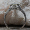 1920's Handmade Platinum 2.46ct Diamond Ring