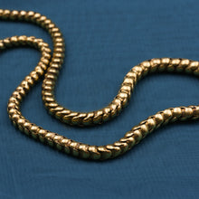 22k Gold and Garnet Snake Necklace c1890