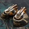 1930-50 14k Swirl Earrings
