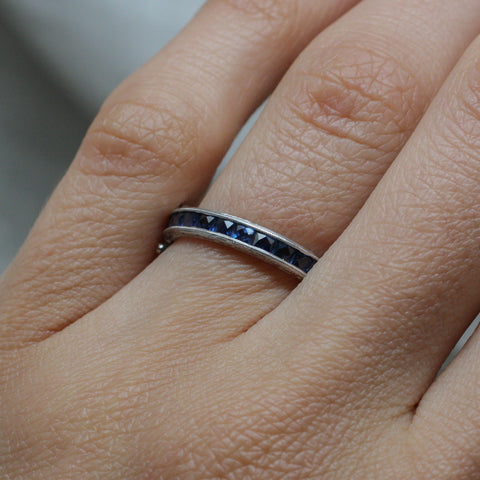 Platinum Flip Ring