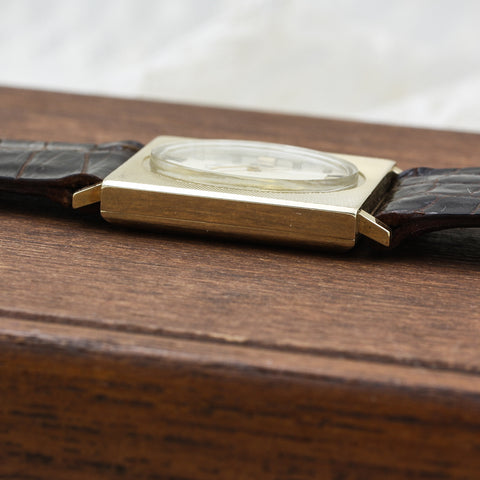 c1965 Le Coultre 14k Wrist Watch