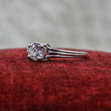 c1930 Platinum Diamond Solitaire
