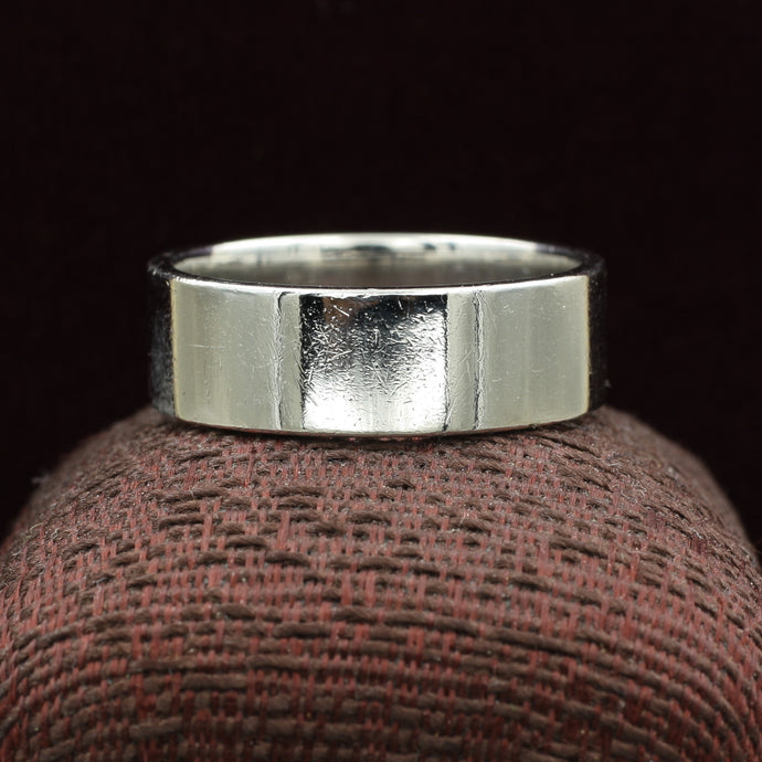 Heavy Squared Platinum Band