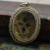 Victorian Amethyst Memorial Locket