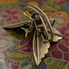 c1885 Rare Demantoid Garnet Butterfly Clip-pin