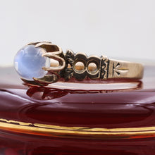 Early Victorian Moonstone Solitaire Ring