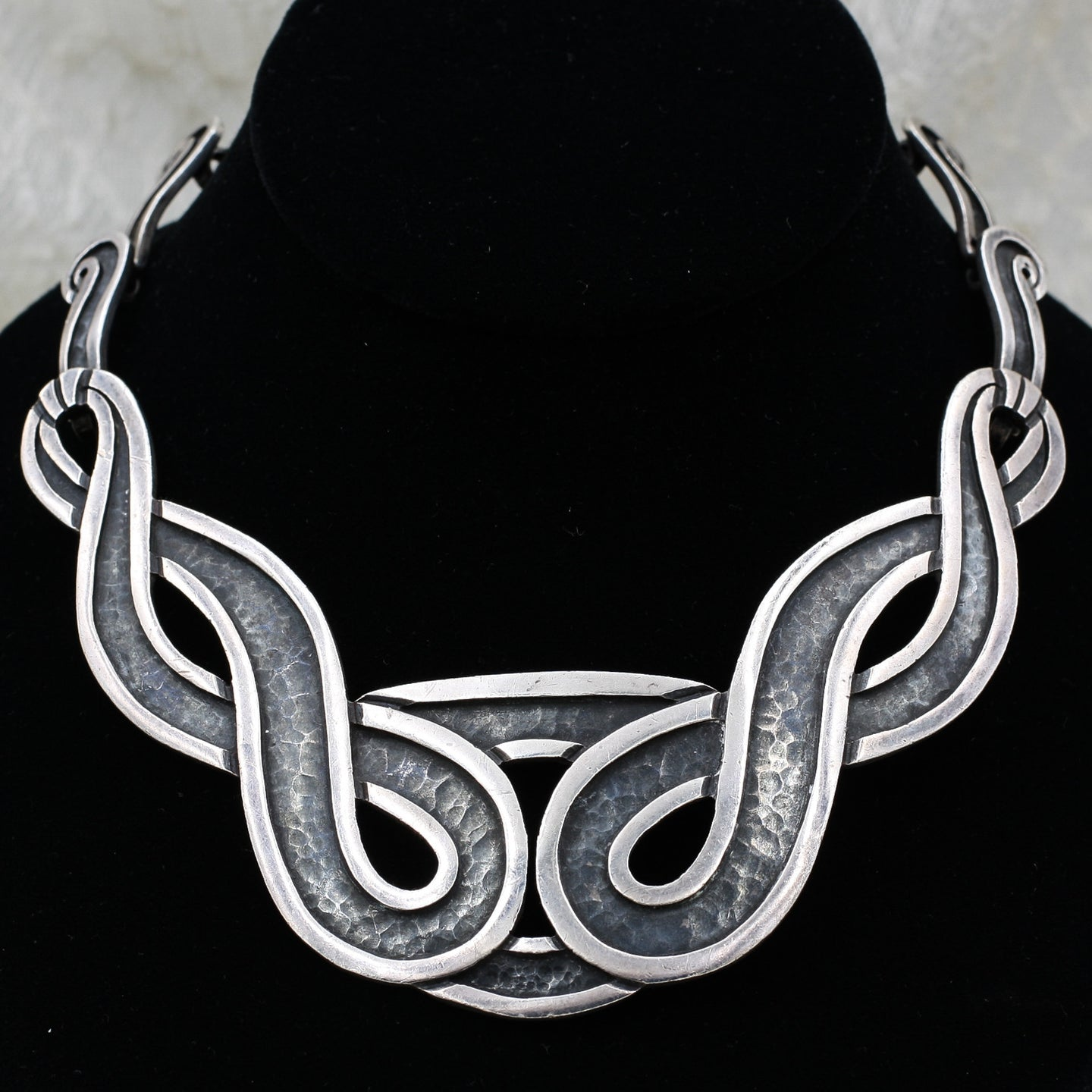1948 Margot de Taxco Sterling 1st Design Necklace