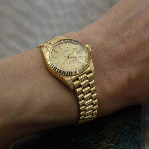 1982 Lady's Oyster Perpetual Datejust Rolex