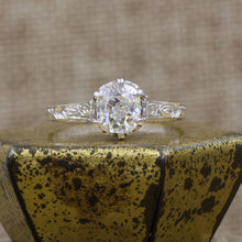 Edwardian .83 Carat Old Mine Cut GIA Certified Diamond Solitaire