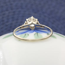 Edwardian .69 carat Old European Solitaire Ring