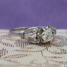 Midcentury Buttercup Diamond Ring
