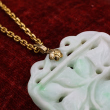 Carved Jade Pendant- Top Detail