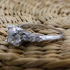 1.26 Old Mine Cut Diamond Platinum Ring
