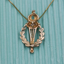 Vintage Olympic Torch Pendant