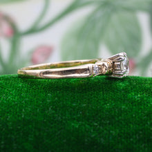 Two-tone .40 Carat Diamond Ring c1930