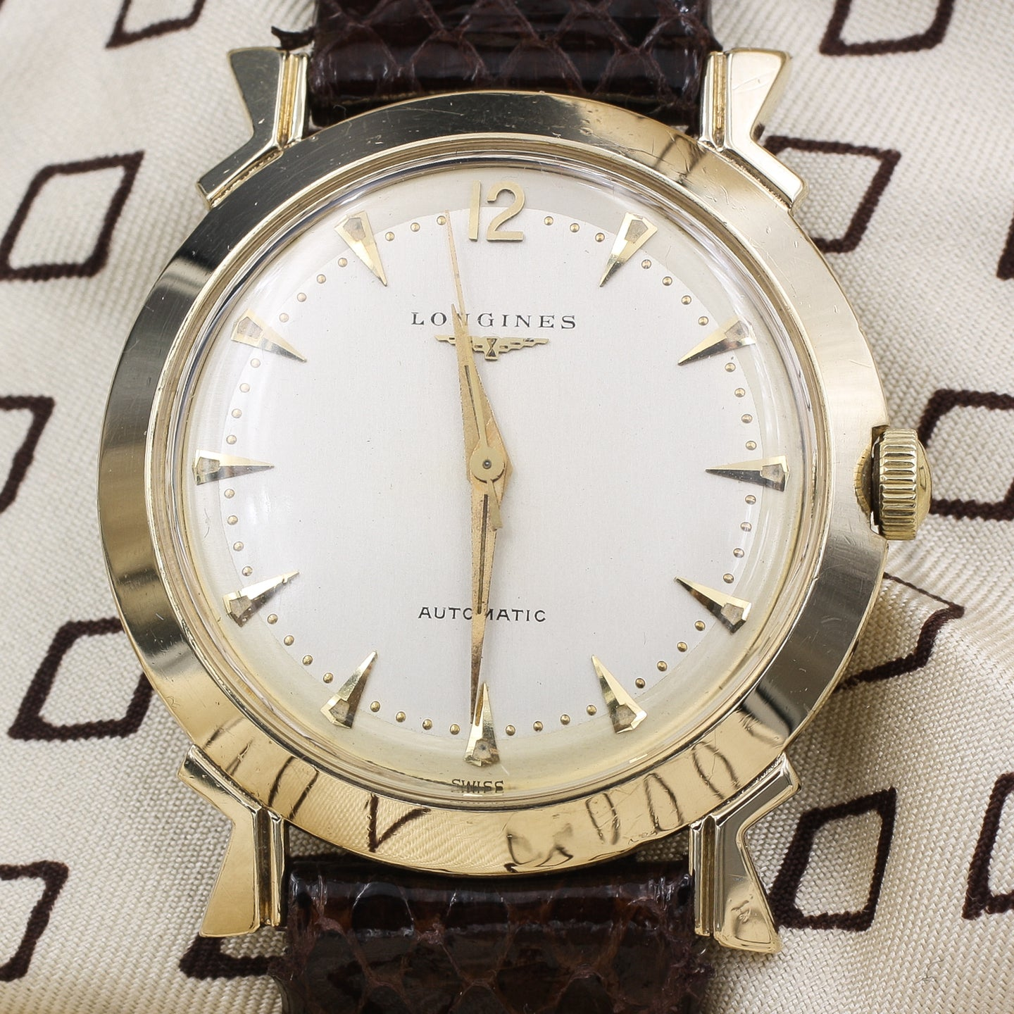 1940s Longines Automatic 14k Watch