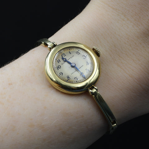Gold Tiffany & Co. Lady's Wristwatch c1916