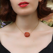 Ancient Carnelian Intaglio Necklace