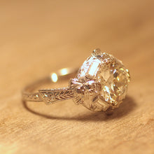 Circa 1920 2.21Ct. Diamond Engagement Ring