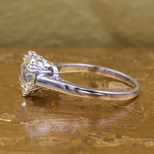2.07 Carat Old European Diamond Solitaire c1910