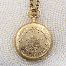 Waltham Gold Pocket Watch c1898