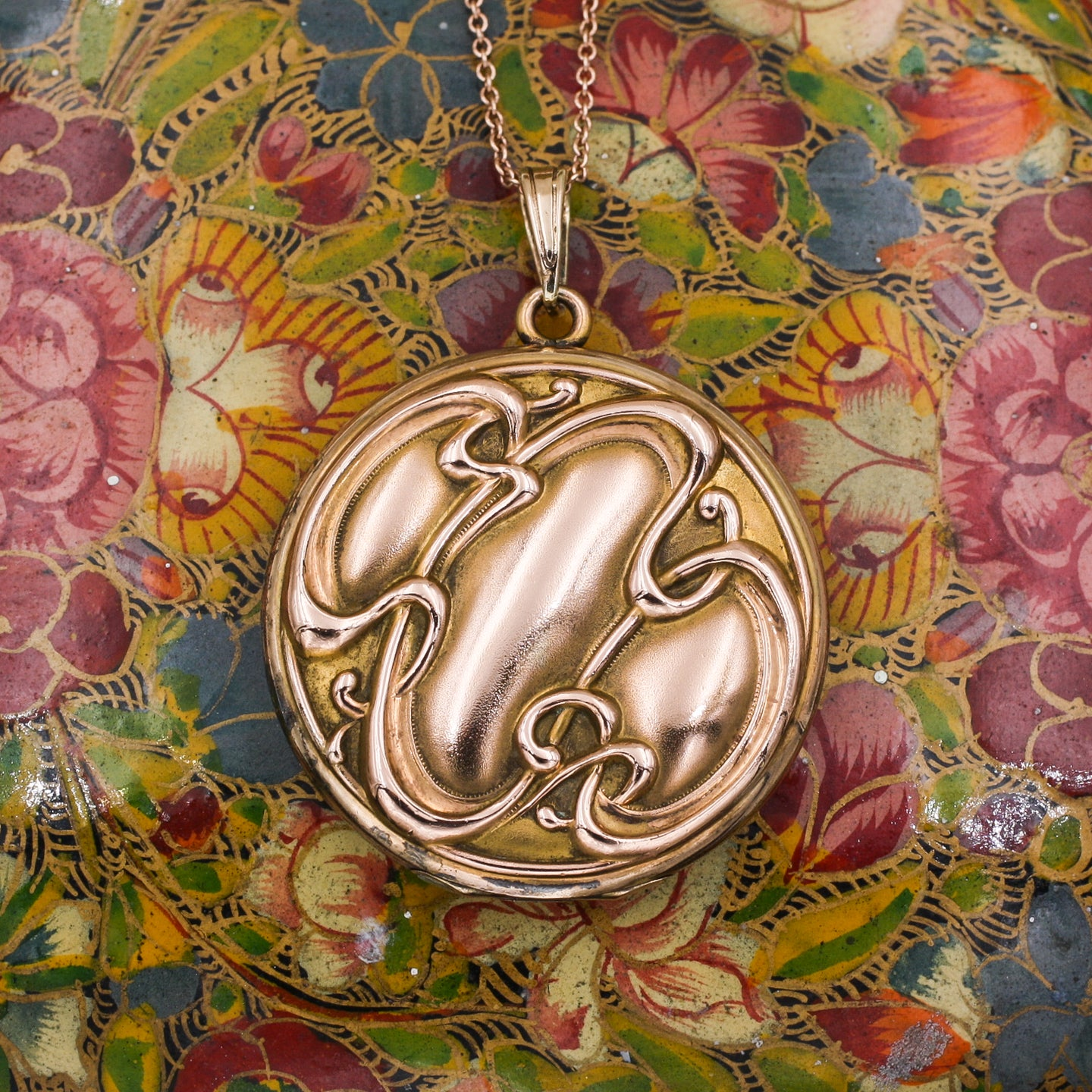 1880s Art Nouveau Locket
