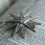 Circa 1900 Diamond Star Pin/Pendant