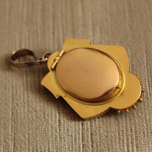 Circa 1870 12K Gold Locket
