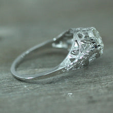 Circa 1930-1940 18K Diamond Engagement Ring