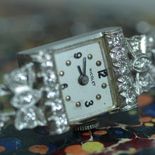 Circa 1950 Platinum & Diamond Watch