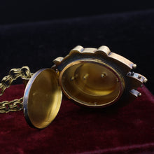 Early Victorian 14k Dove Locket