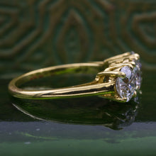 Custom Cartier Old European Diamond Ring