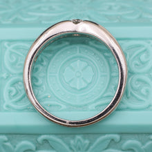 Tiffany & Co. Platinum Gypsy-set Diamond Ring by Elsa Perretti