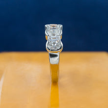 Oval and Baguette Cut Diamond Band