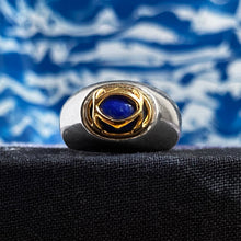 Lapis Ring by Cartier c1980